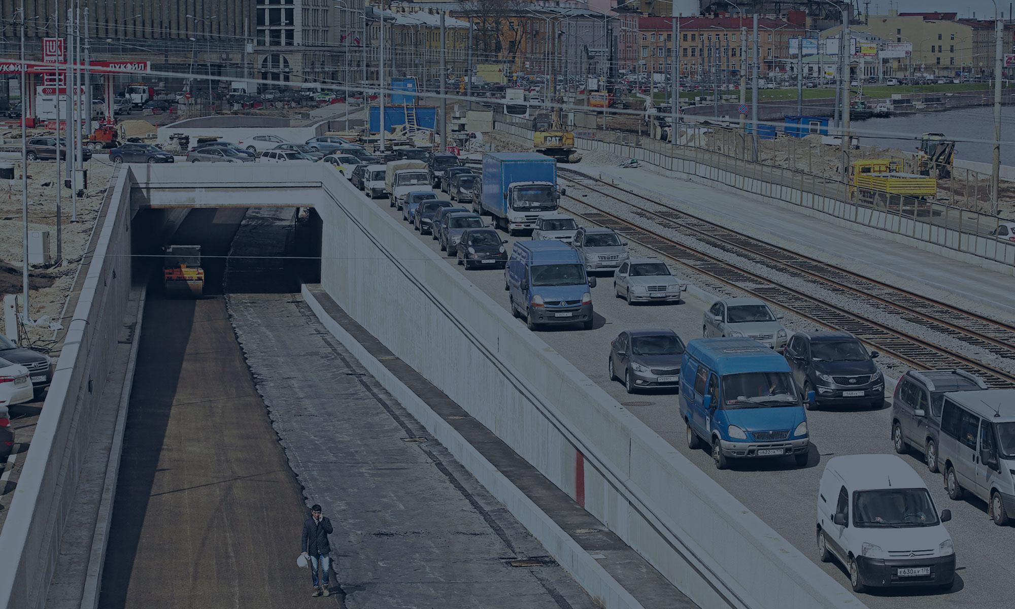 Вице-губернатор Санкт-Петербурга Игорь Албин посетил штаб строительства «Мостострой № 6» на Синопской набережной