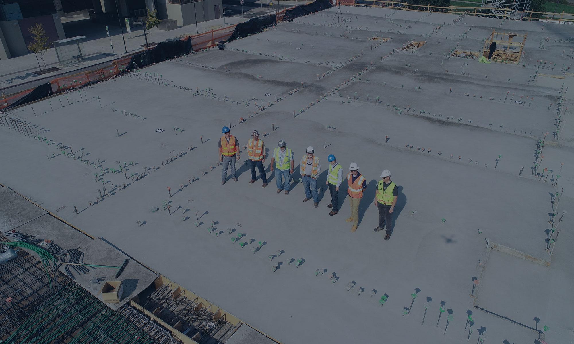Компания «Мостострой №6» поздравляет всех сотрудников с днём строителя!