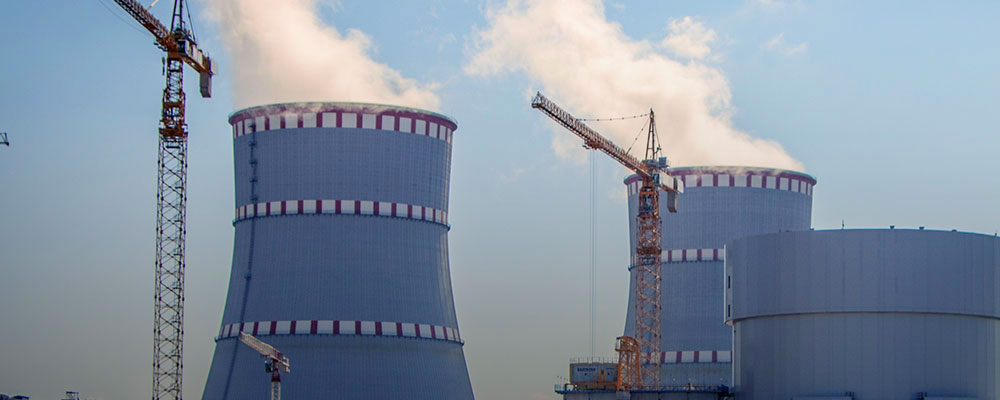 Строительство АЭС и ТЭЦ