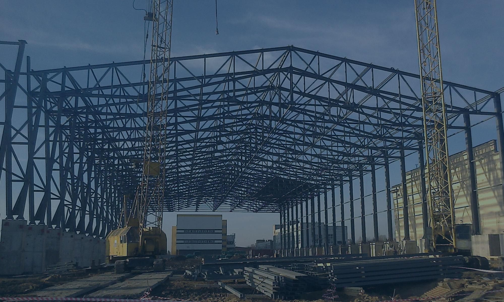 Строительство технически сложного объекта «Универсальный оффшорный бассейн»
