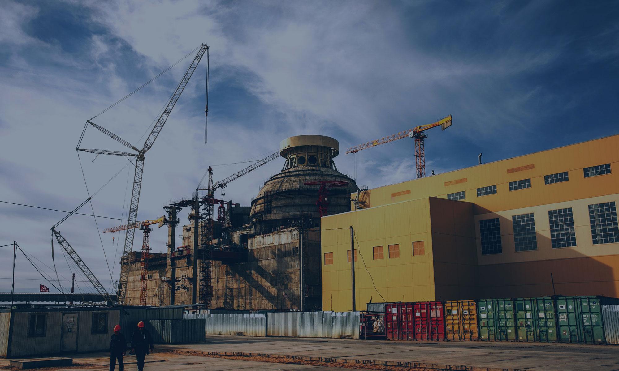 Работы по сооружениям №2 НВАЭС-2