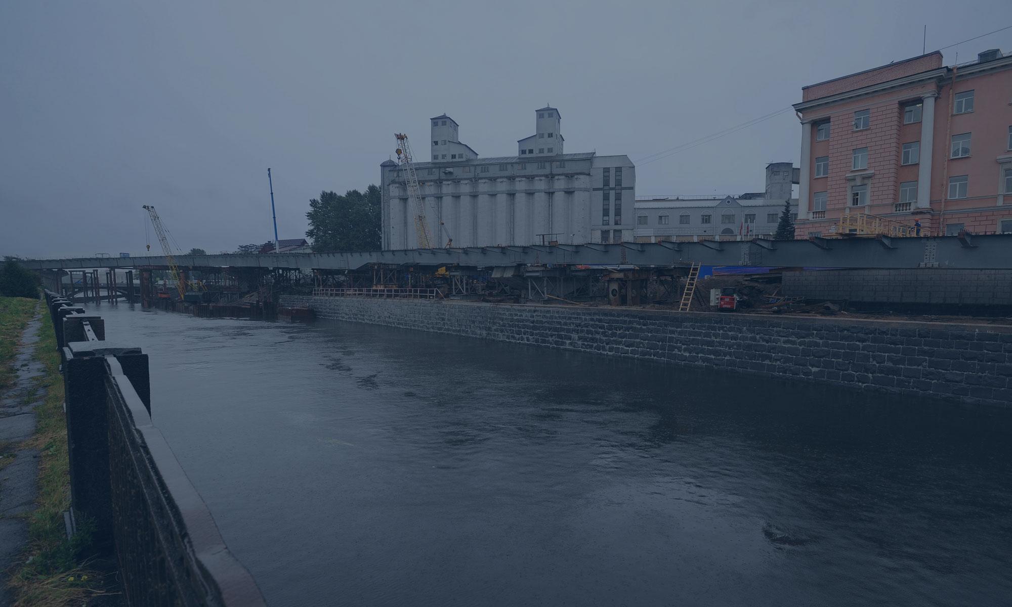 Строительство объекта «проезд по южному берегу Обводного канала»