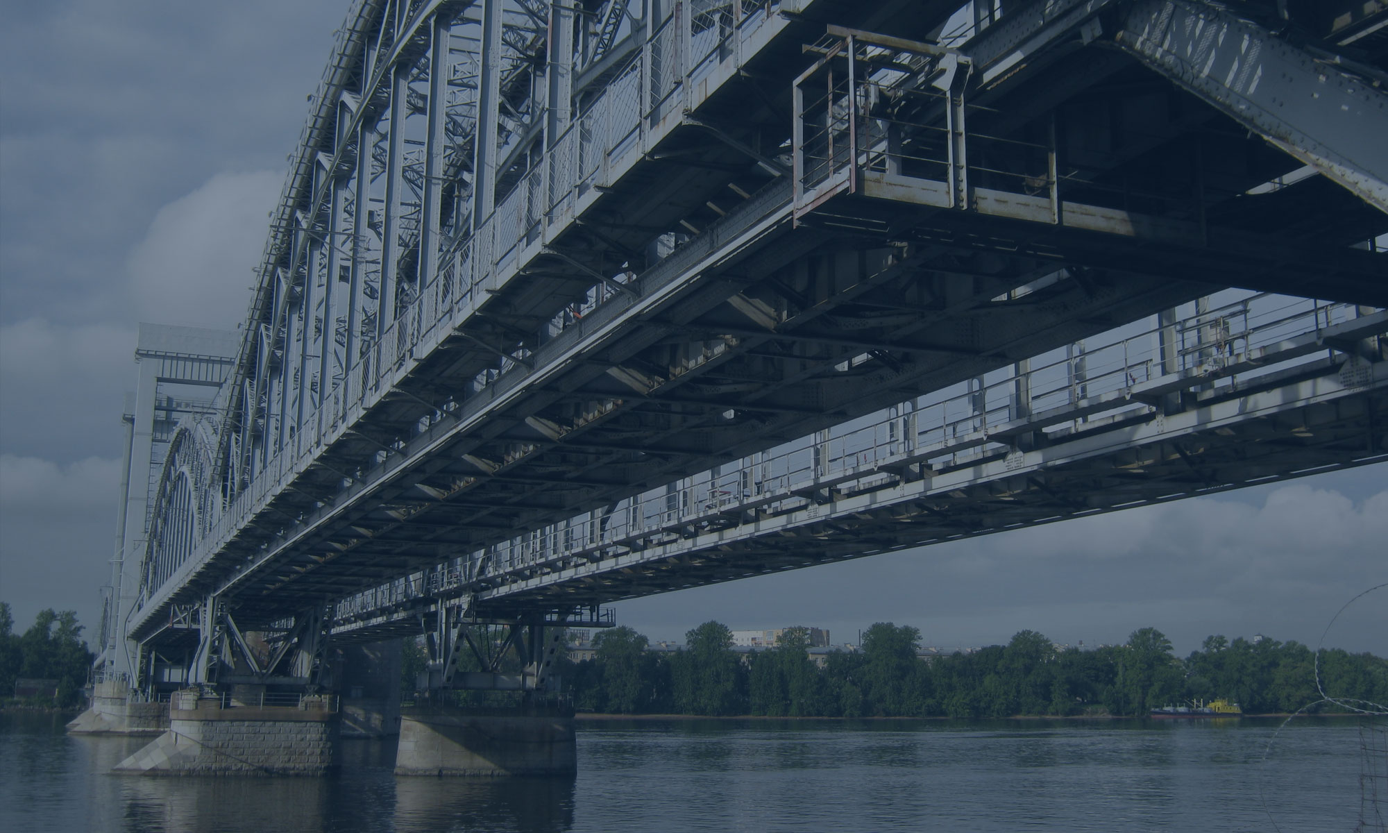 Капитальный ремонт Финляндского железнодорожного моста