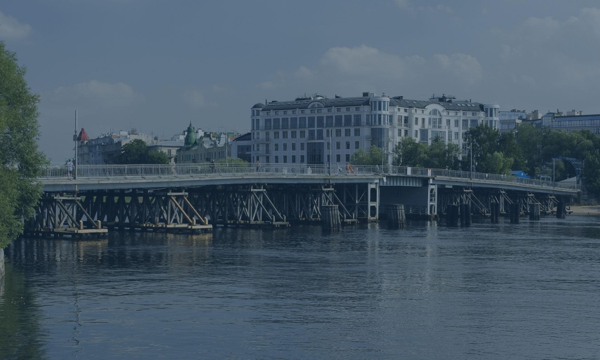 Реконструкция Большого Петровского моста в Санкт-Петербурге