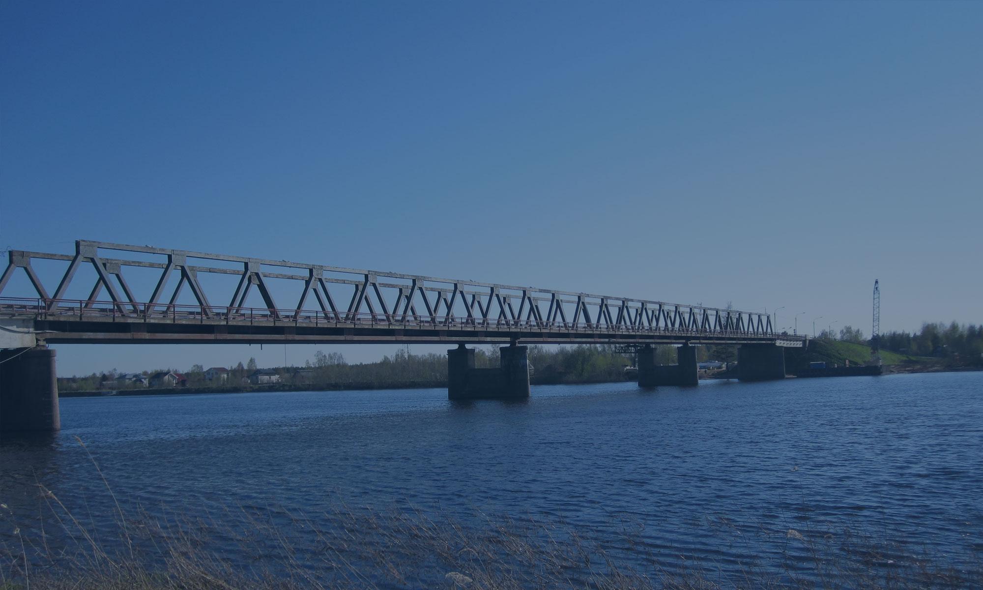 Реконструкция мостового перехода через р. Паша