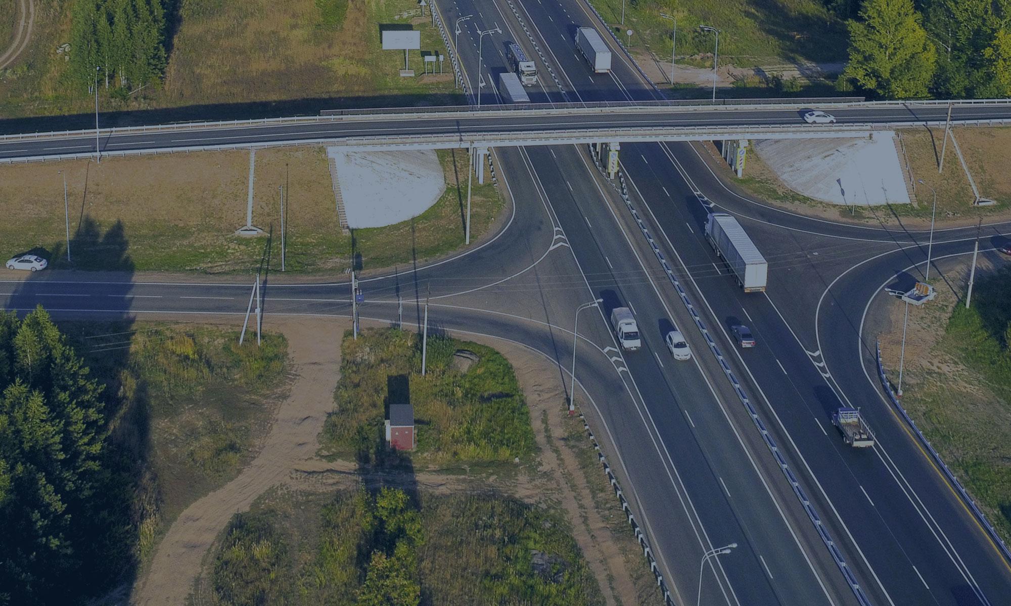 Строительство автомобильного путепровода в г. Мирный