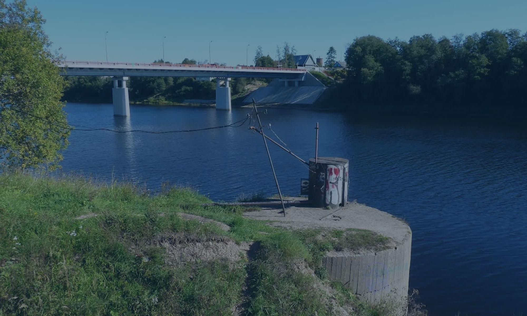 Капитальный ремонт моста через реку Сясь