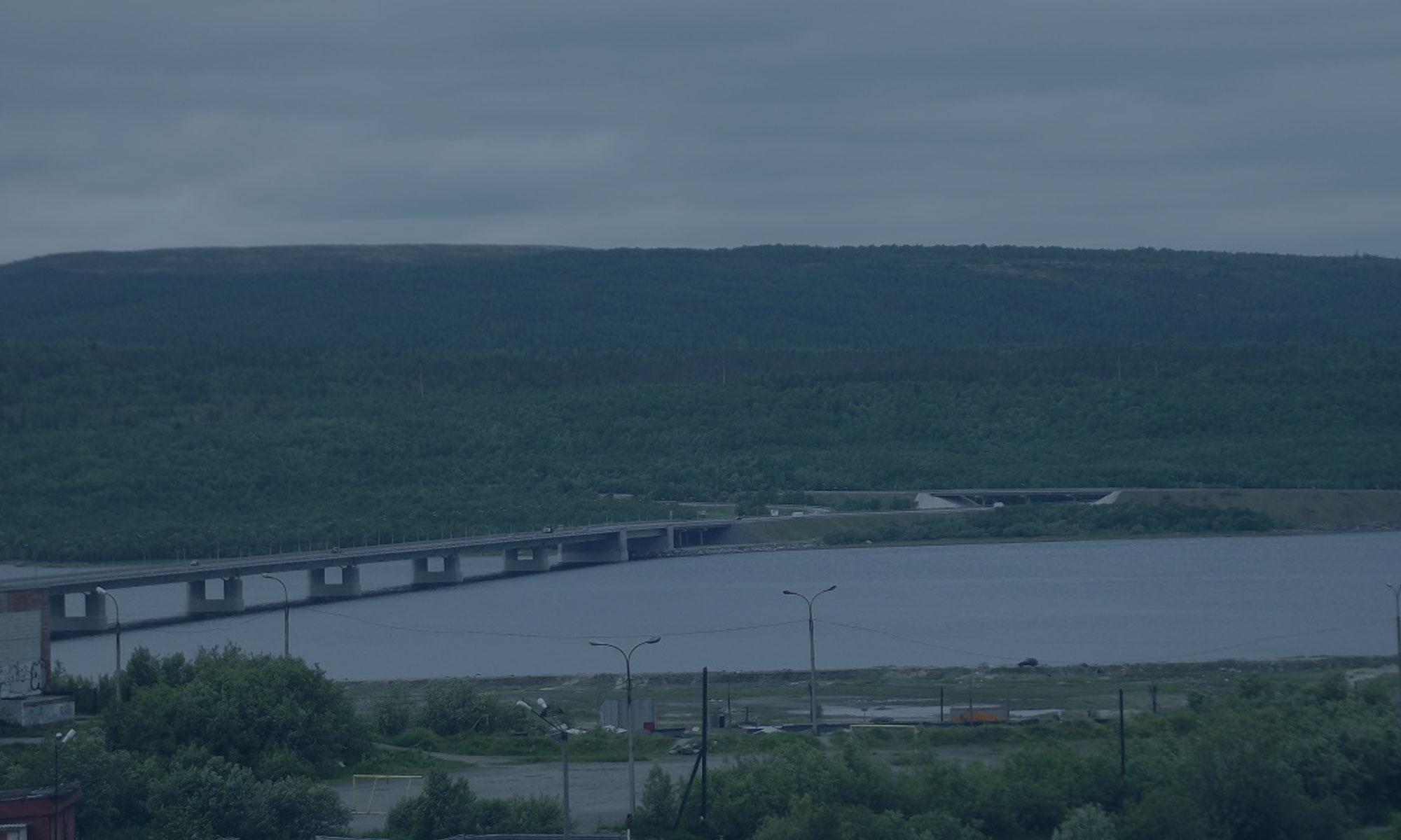 Реконструкция мостового перехода через реку Канда-Губа