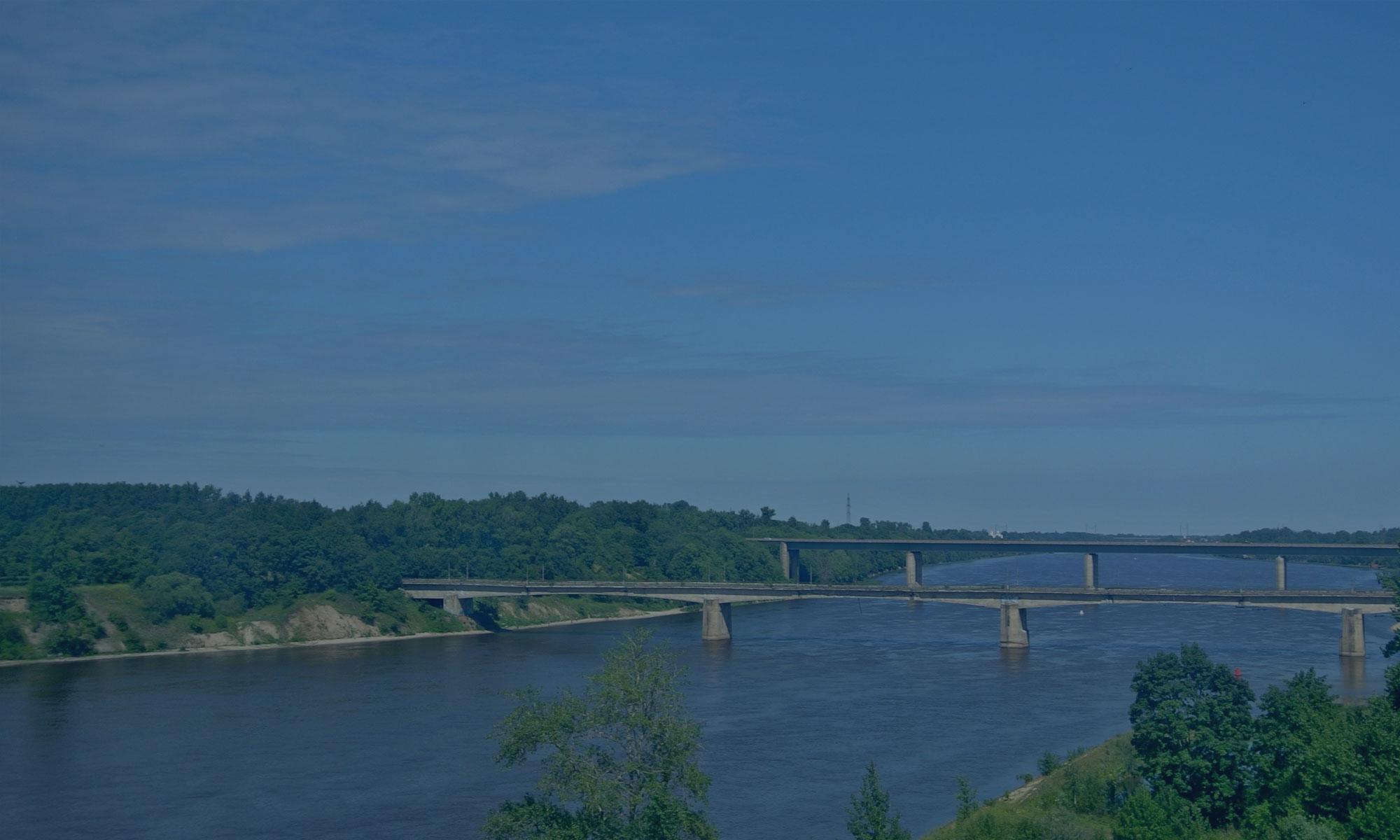 Реконструкция мостового перехода через р. Сясь