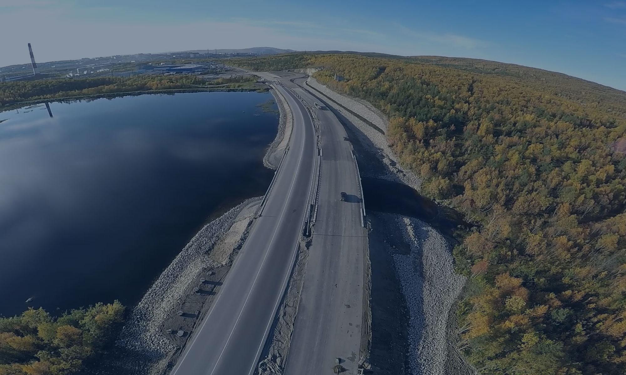 """Реконструкция мостового перехода через реку Волхов на км 122+085 автомобильной дороги М-18 """"Кола"""" (1 этап)"""